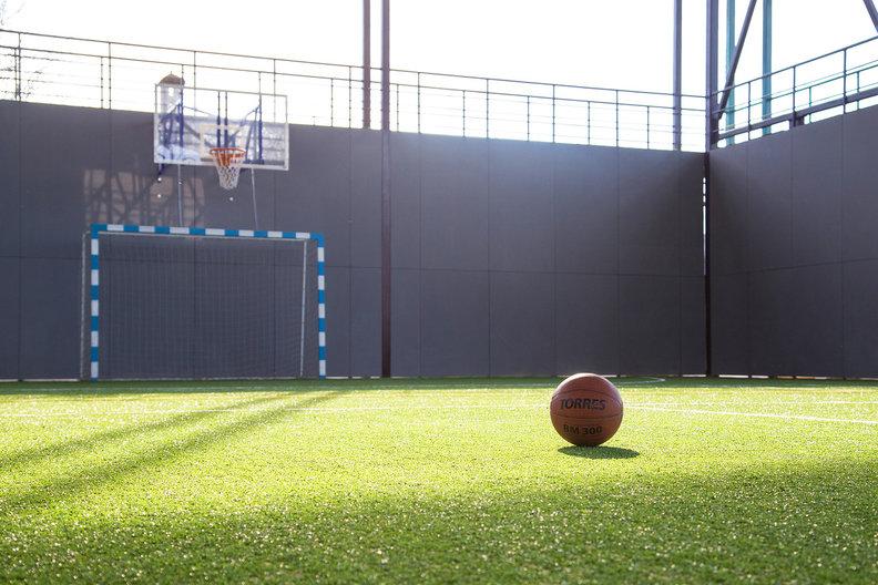 Спортивный комплекс для сборов в Усадьбе «Белый остров»