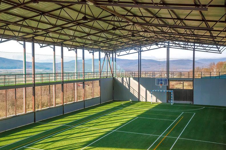Комплекс для спортивных сборов в Крыму