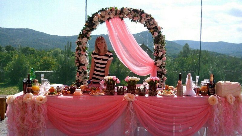 Свадьба в Крыму в горах