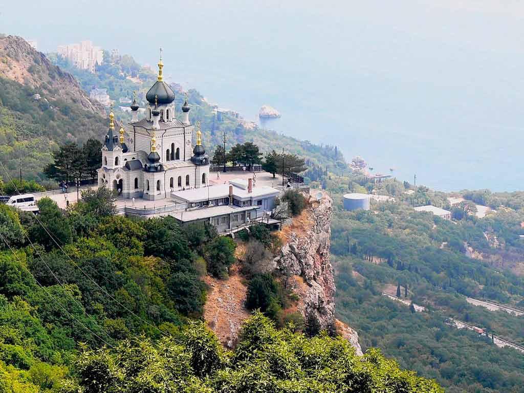 Обои Форосская церковь, Крым. Города foto 13